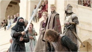 Joffrey Baratheon Kills Ned Stark